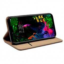 Funda Fip Cover G G8 ThinQ iso Beige