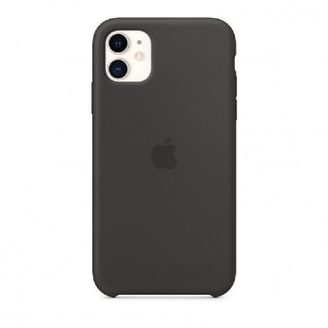 FUNDA APPLE IPHONE 11 SILICONE CASE - NEGRA- MWVU2ZM/A