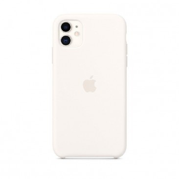 FUNDA APPLE IPHONE 11 SILICONE CASE - BLANCA- MWVX2ZM/A
