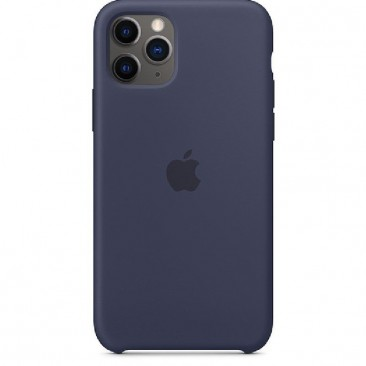 FUNDA APPLE IPHONE 11 PRO SILICONE CASE - AZUL MEDIANOCHE - MWYJ2ZM/A