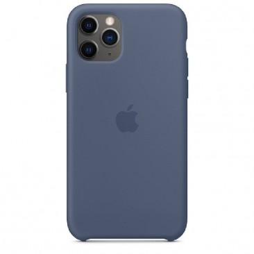 FUNDA APPLE IPHONE 11 PRO SILICONE CASE - AZUL ALASKA - MWYR2ZM/A