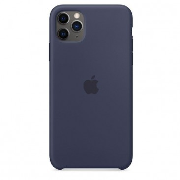 FUNDA APPLE IPHONE 11 PRO MAX SILICONE CASE - AZUL MEDIANOCHE - MWYW2ZM/A