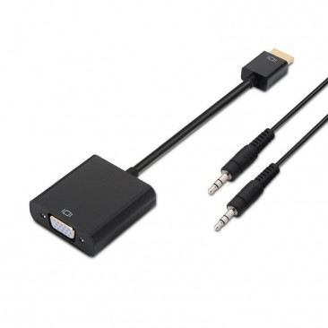 ADAPTADOR HDMI A SVGA+AUDIO...