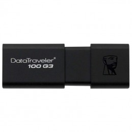 PENDRIVE KINGSTON DATATRAVELER DT100G3 64GB - USB 3.0 - LECTURA 100MB/S