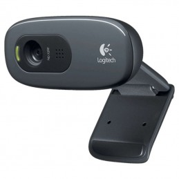 WEBCAM LOGITECH HD C270 - HD 720P - FOTOS 3MPX - MICRÓFONO INTEGRADO CON REDUCCION DE RUIDO - CABLE 1.5M