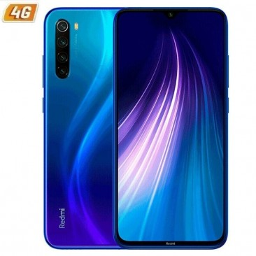 SMARTPHONE MÓVIL XIAOMI REDMI NOTE 8T STARSCAPE BLUE - 6.3'/16CM - SNAPDRAGON 665 - 4GB RAM - 64GB - CAM (48+8+2+2)/13 MP - 4G -
